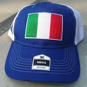 Italy Pride FLAG Trucker Hat